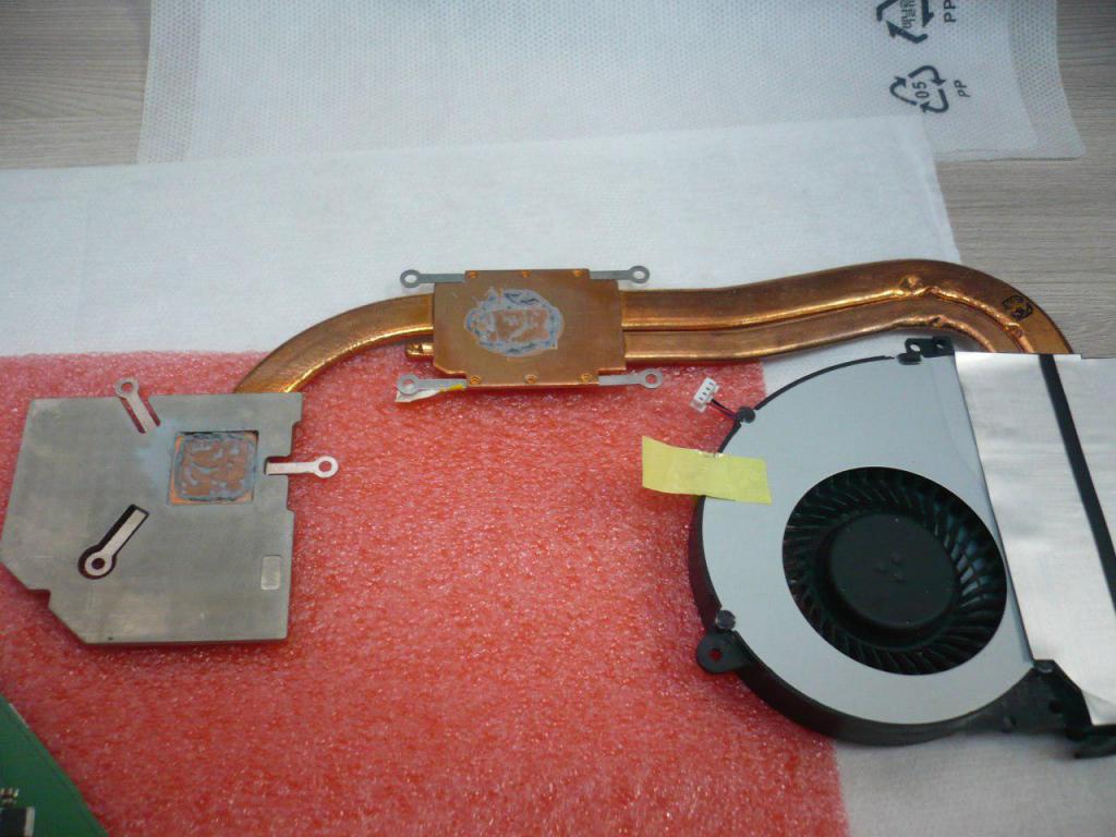 Разбор ноутбука Asus K550V