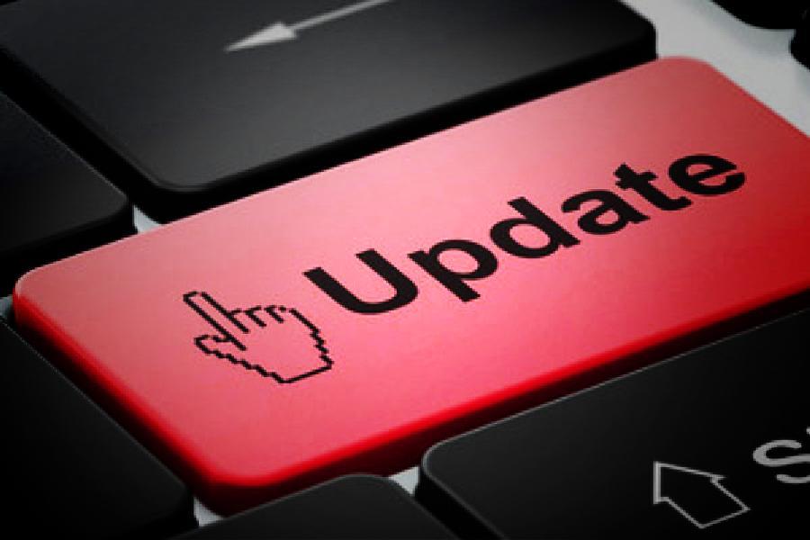 Кнопка Update на клавиатуре