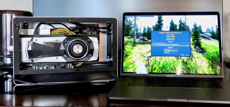 как подключить внешнюю видеокарту к ноутбуку
