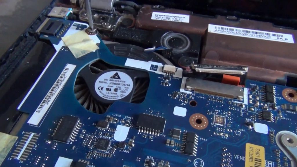 Acer Aspire V3-551g не включается
