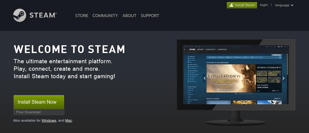 elcome to Steam. Скачать Steam сейчас, официальный сайт Steam