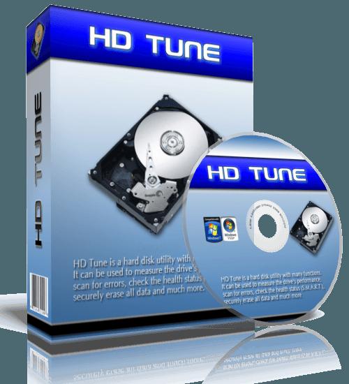 Диск с программой HD Tune Pro