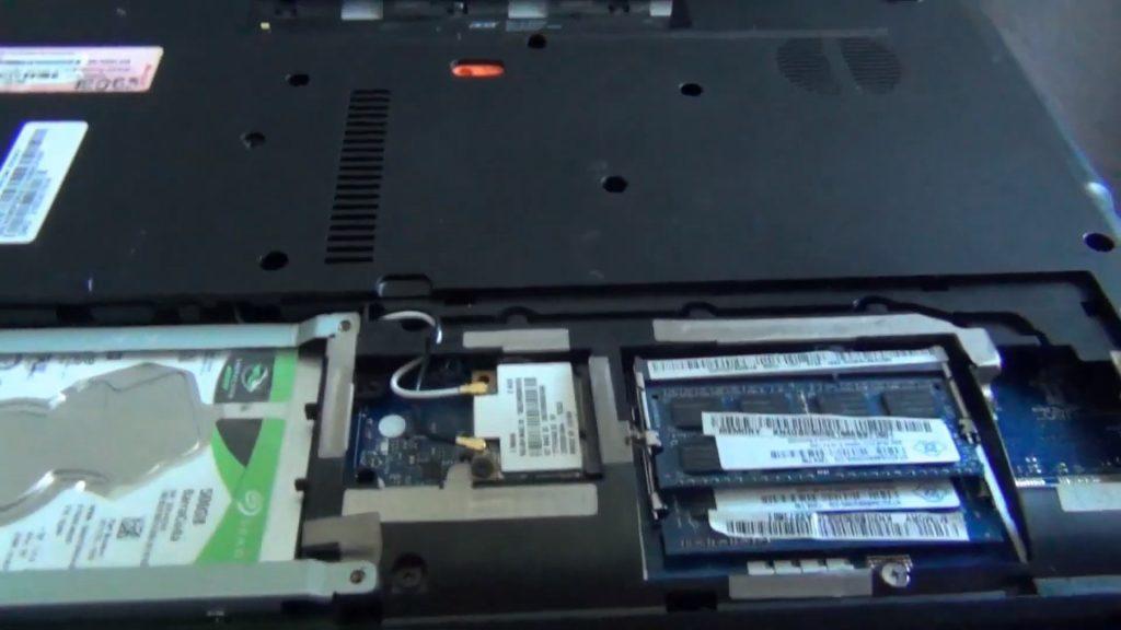 Ноутбук- озу и жесткий диск