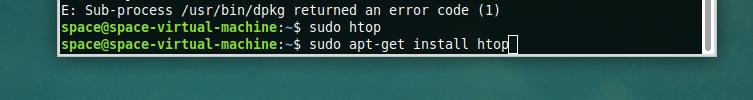 Запускаем диспетчер задач в Linux
