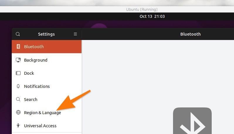 Настройки операционной системы Ubuntu