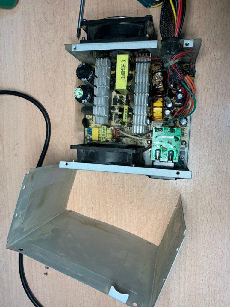 Блок питания стационарного компьютера ремонт