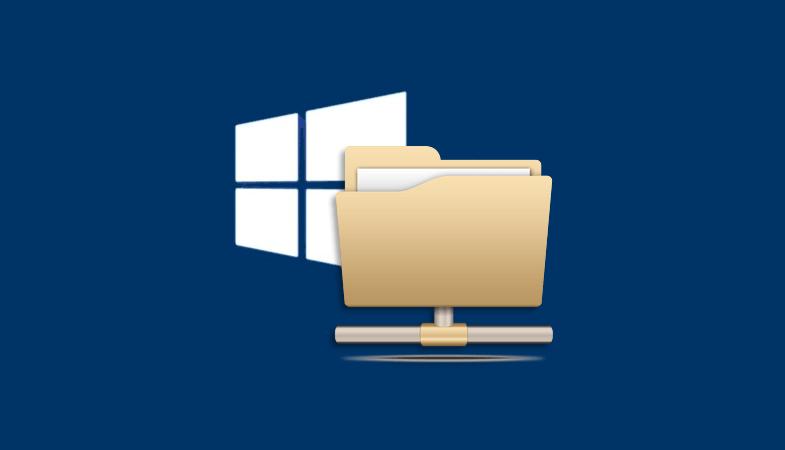 Windows 10 сетевая папка