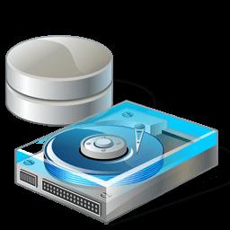 Иконка жесткий диск, HDD, данные
