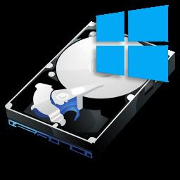 Иконка жесткий диск Windows 10