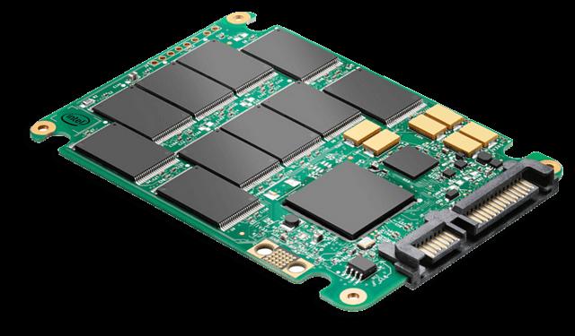 Вид SSD диска без коробки