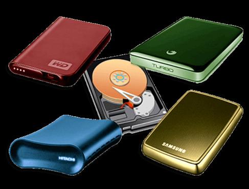 Иконка типы внешних жестких дисков