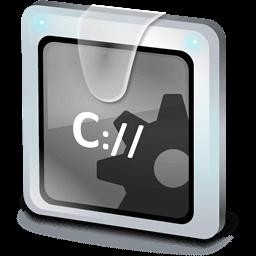 Иконка CheckDisk, командная строка