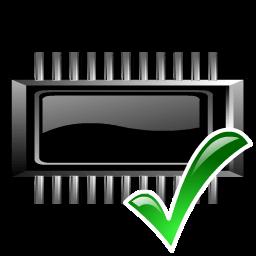 Иконка БИОС, микросхема