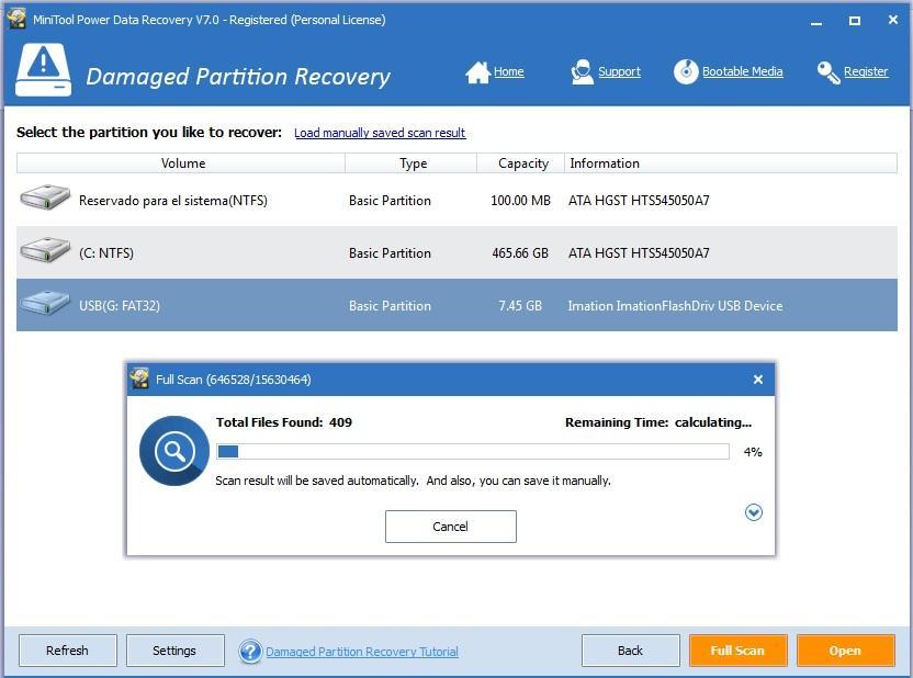 Программа MiniTool Power Data Recovery для восстановления данных