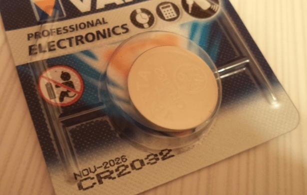 батарейка биос версия cr2032