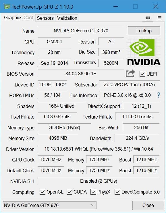 программа GPU-Z