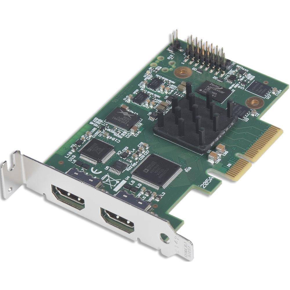 Видеокарта с двумя разъёмами HDMI