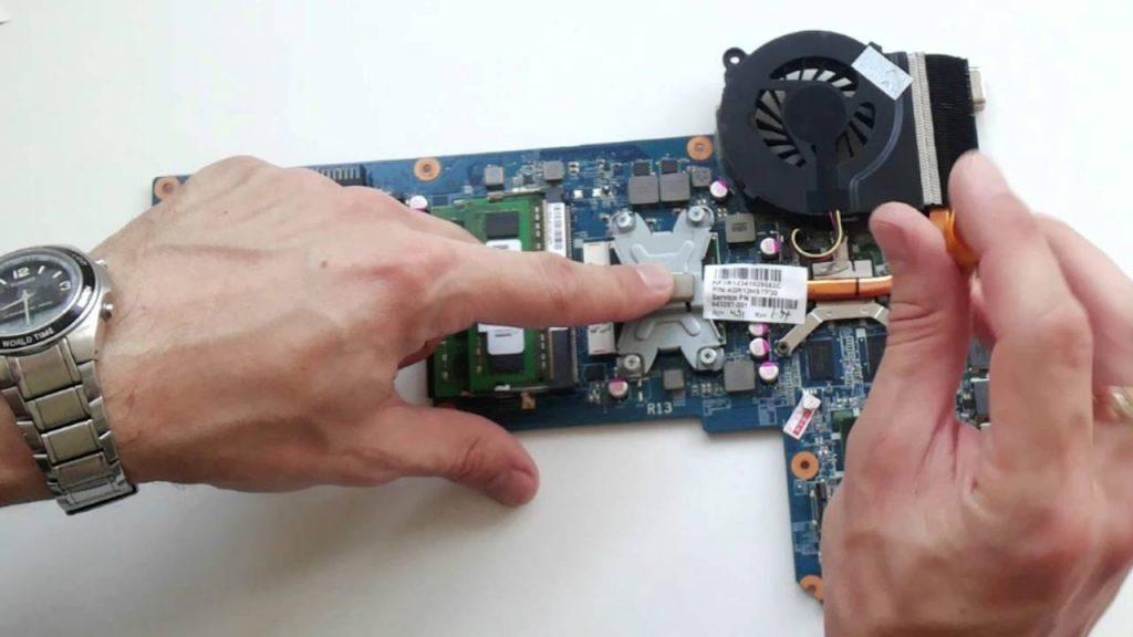 Система охлаждения HP G6