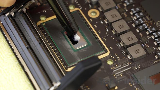 Инструкция: Замена термопасты в MacBook