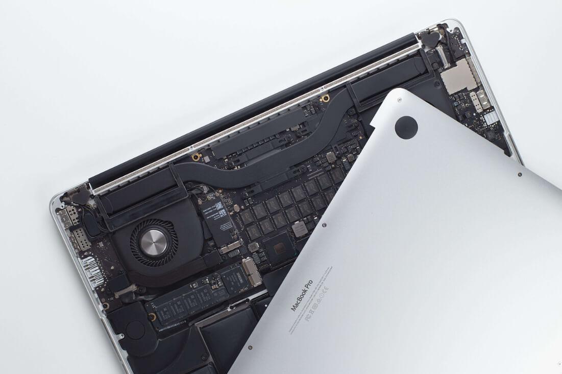 Заменяем SSD в MacBook