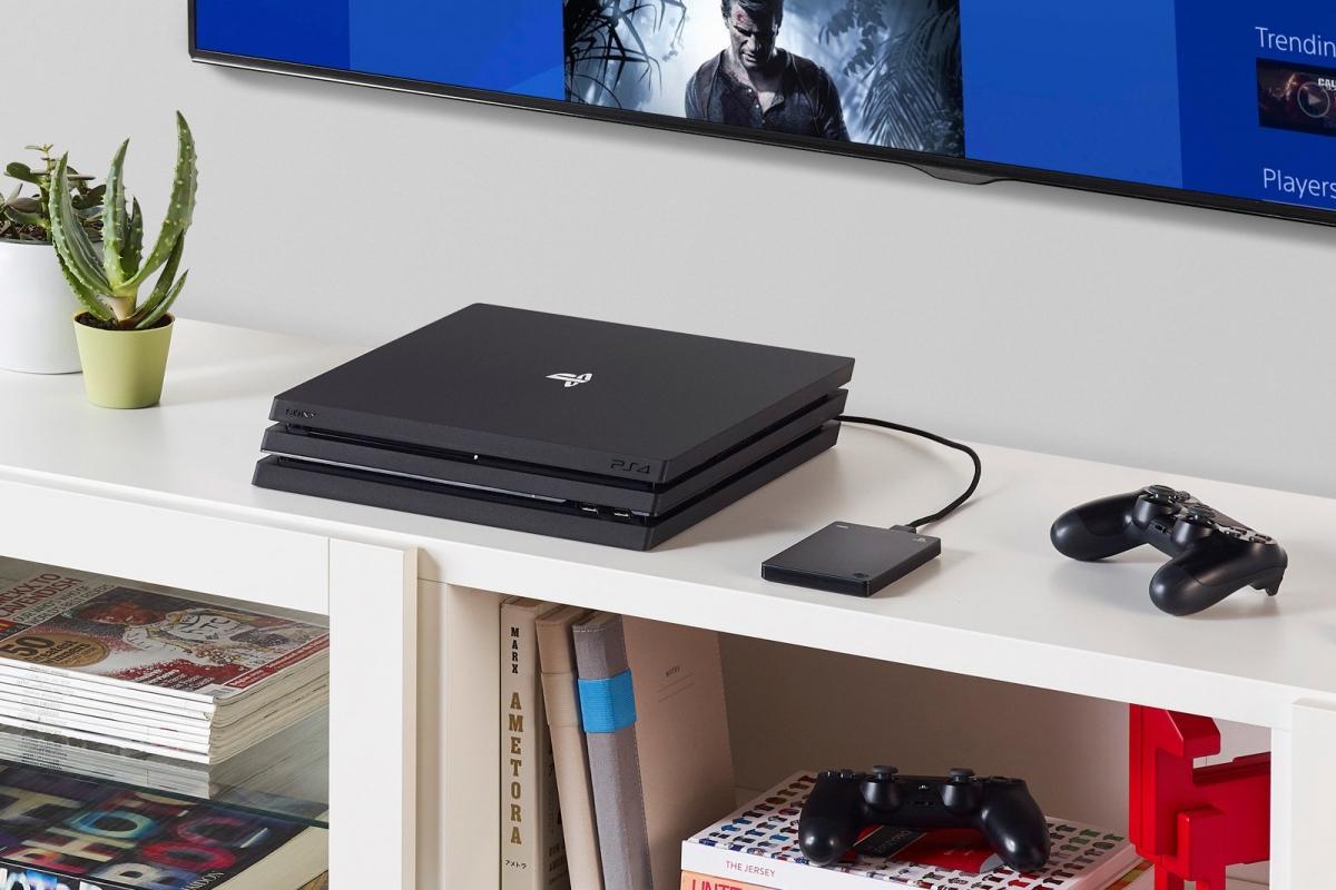 Подключаем внешний жесткий диск к PS4