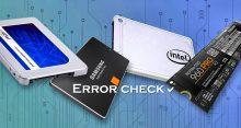 Проверяем SSD диск на ошибки