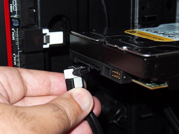 Схема подключения шлейфа к диску