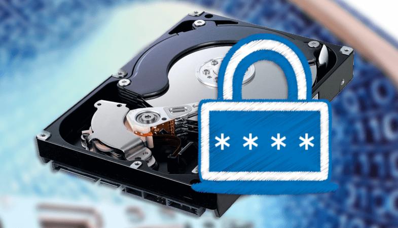 Установка пароля на жесткий диск