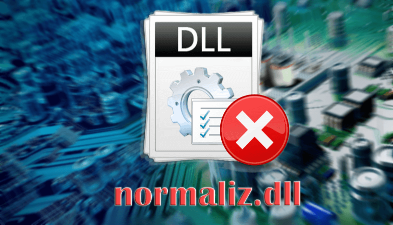 Ошибка файла normaliz.dll