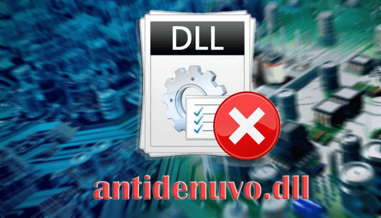 Исправляем ошибку файла antidenuvo.dll