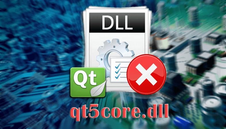 Ошибка файла qt5core.dll