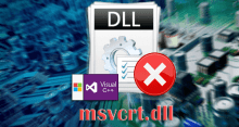 Исправляем ошибку файла msvcrt.dll
