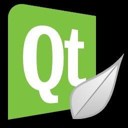Иконка, логотип QT Creator