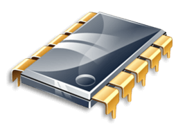 Иконка BIOS, микросхема, чип