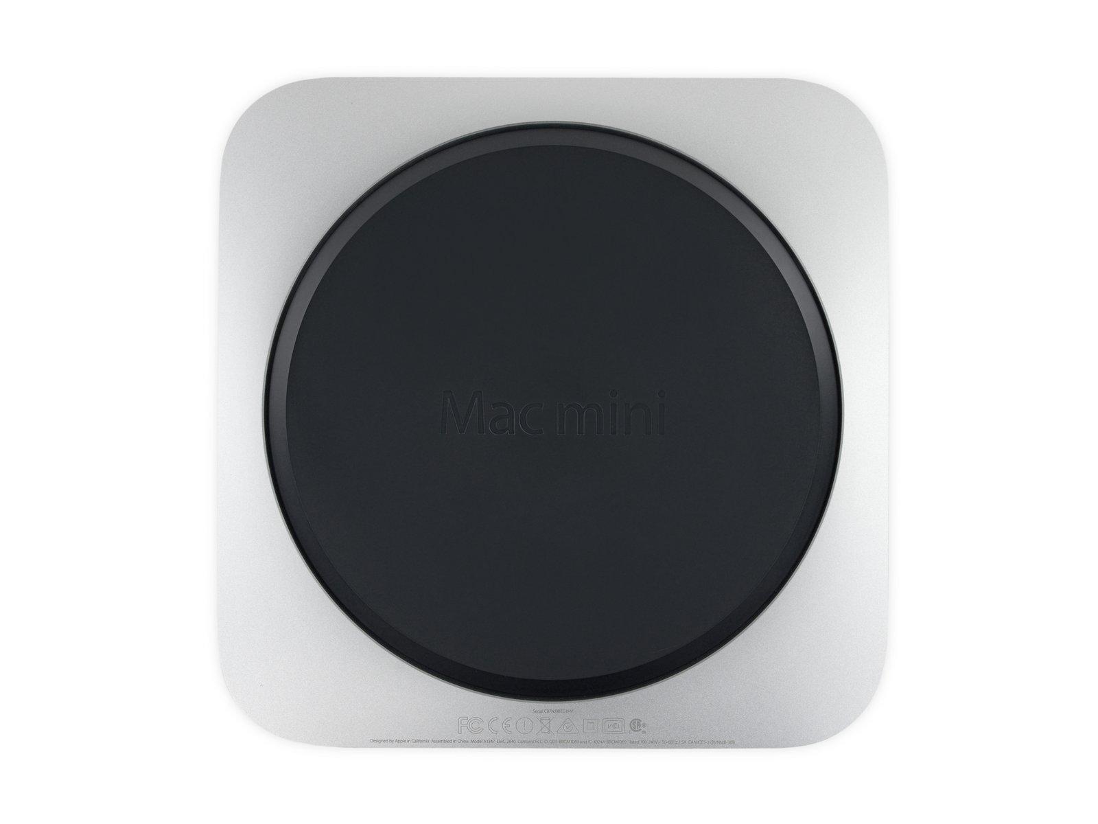 Днище Mac mini