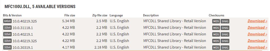 Скачивание DLL-файла