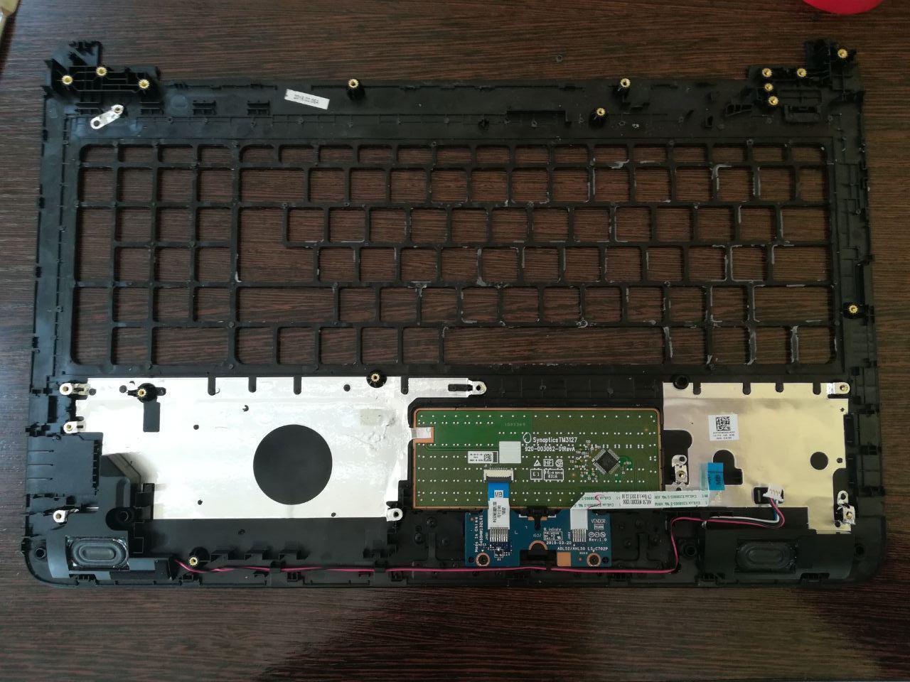 Замена клавиатуры в ноутбуке HP 15-AC100UR