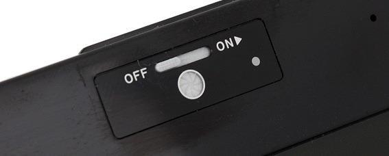 Аппаратный переключатель камеры ноутбука.