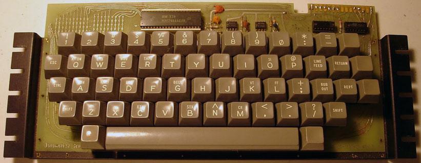 Клавиши на печатной плате