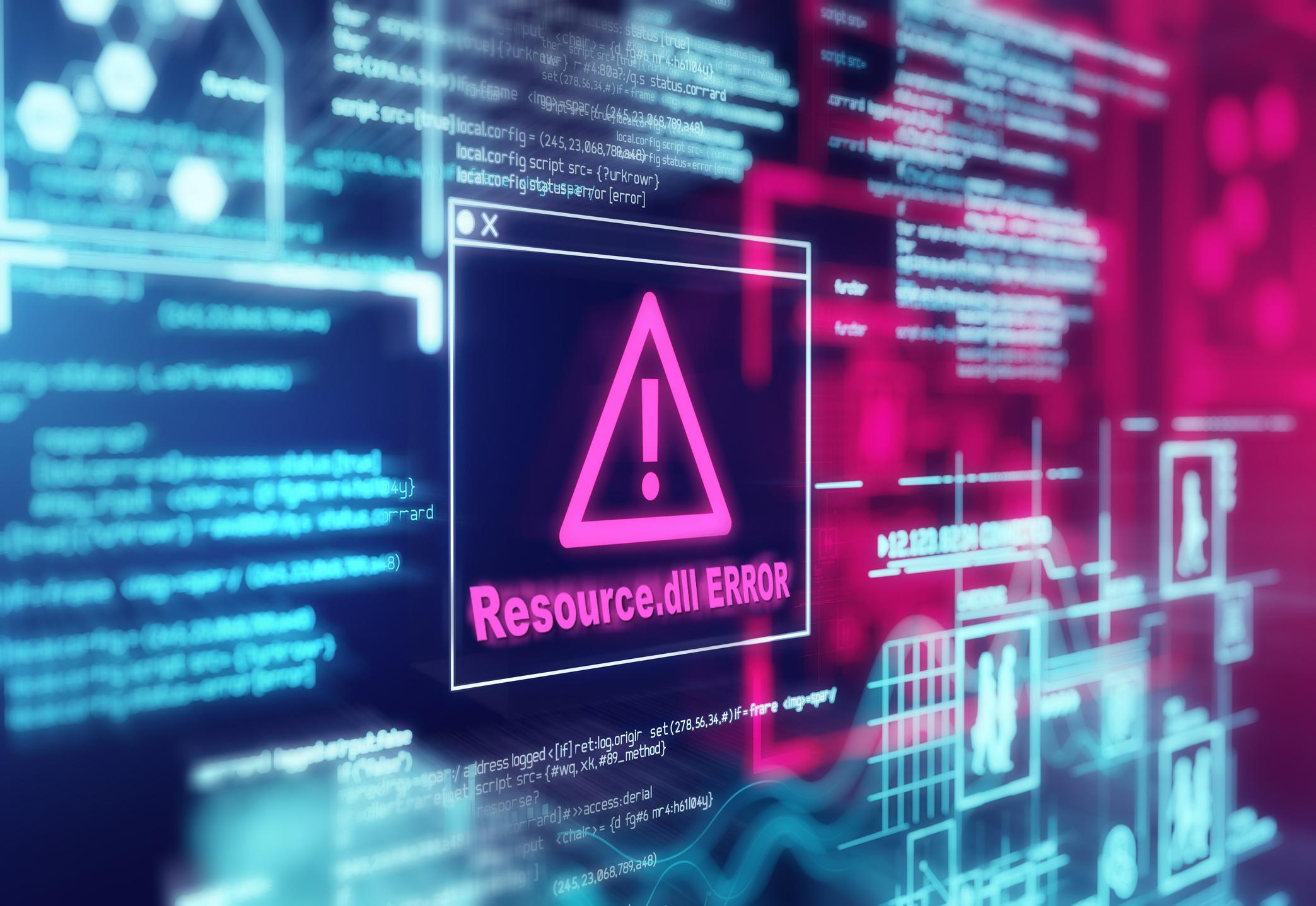 Исправляем ошибку файла resource.dll
