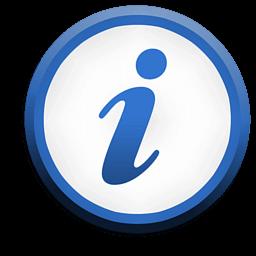 Иконка Сведения, информация