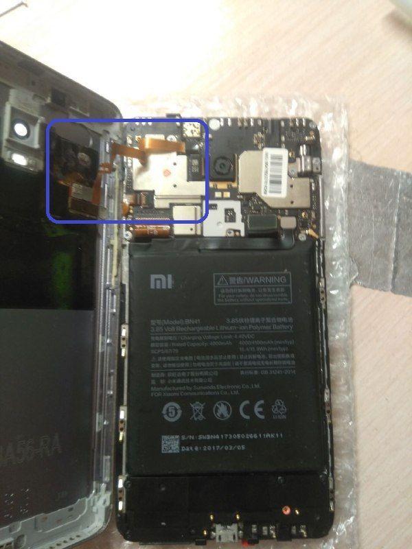Шлейф дисплея Redmi Note 4