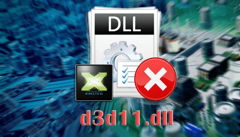Ошибка файла d3d11.dll