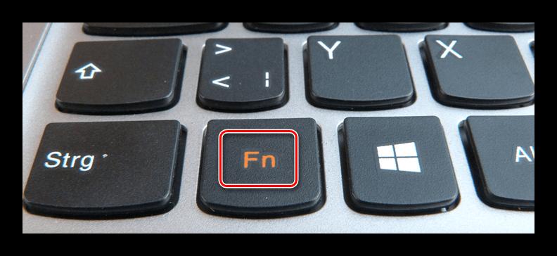 Кнопка FN на клавиатуре