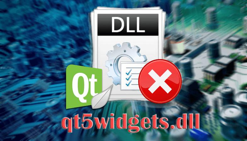 qt5widgets.dll: что за ошибка и как исправить