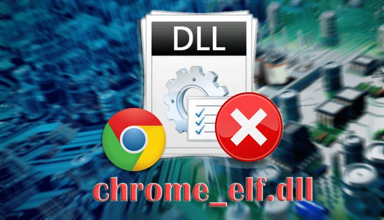 Ошибка chrome_elf.dll