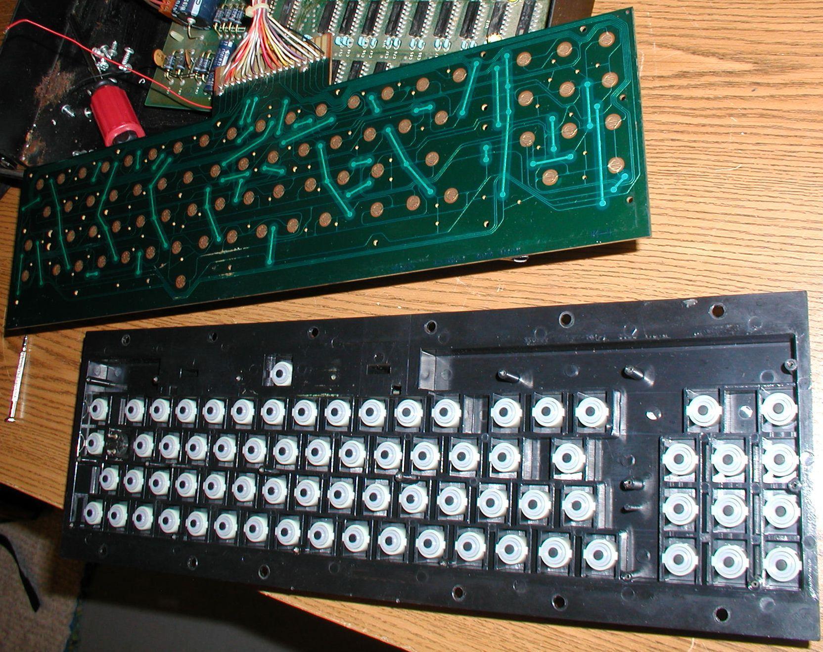 Печатная плата клавиатуры