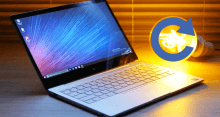 Как сбросить ноутбук до заводских настроек