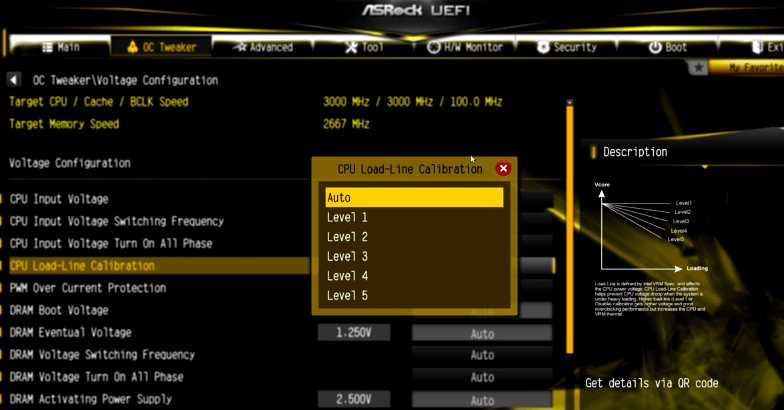 CPU Load-Line Calibration