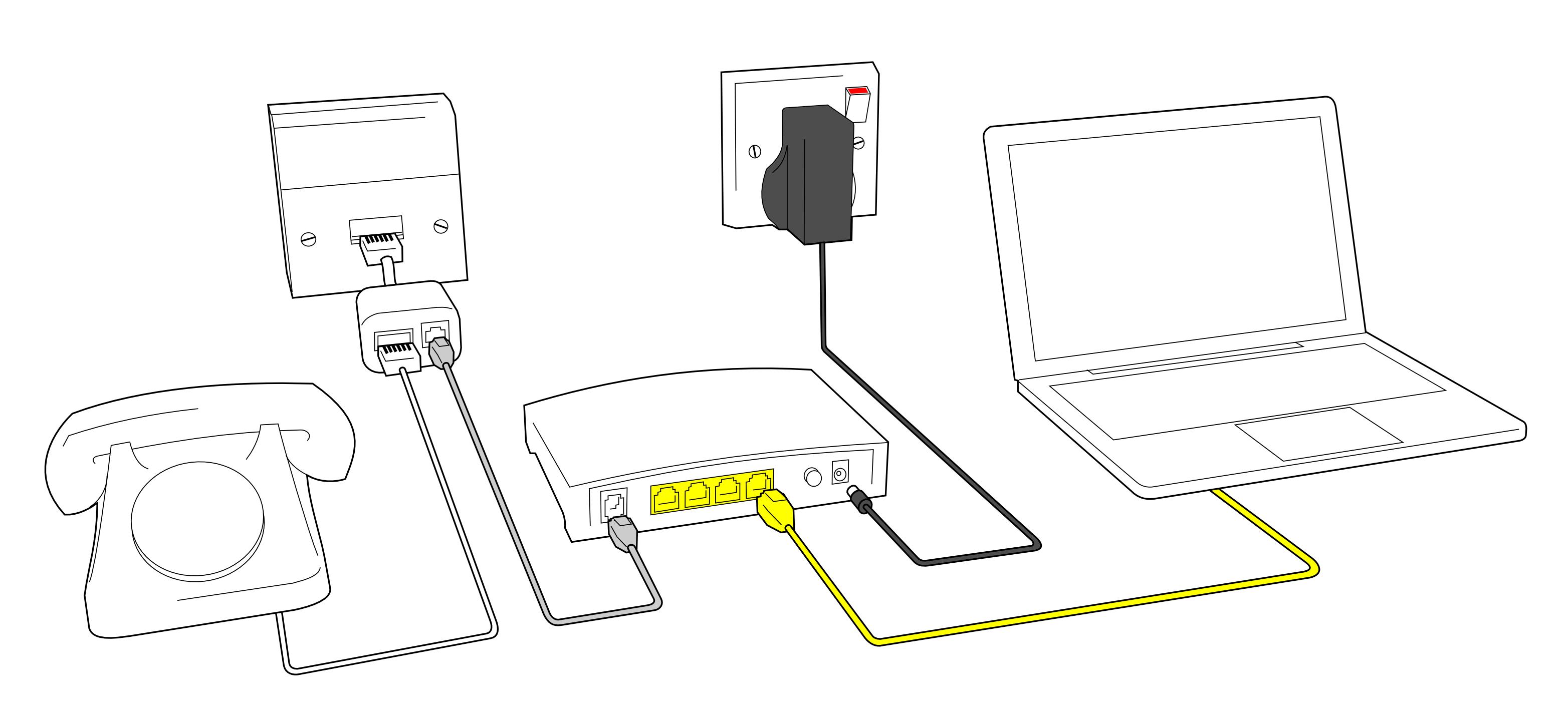 Как правильно подключать и настраивать ADSL роутер
